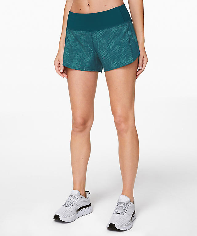 a0f6aec0bf Illusion Tidal Teal Bermuda Teal Speed Up Shorts.