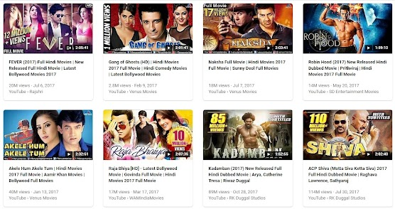 2017 Hindi film Collection 2017 year touch and Play your favourite film