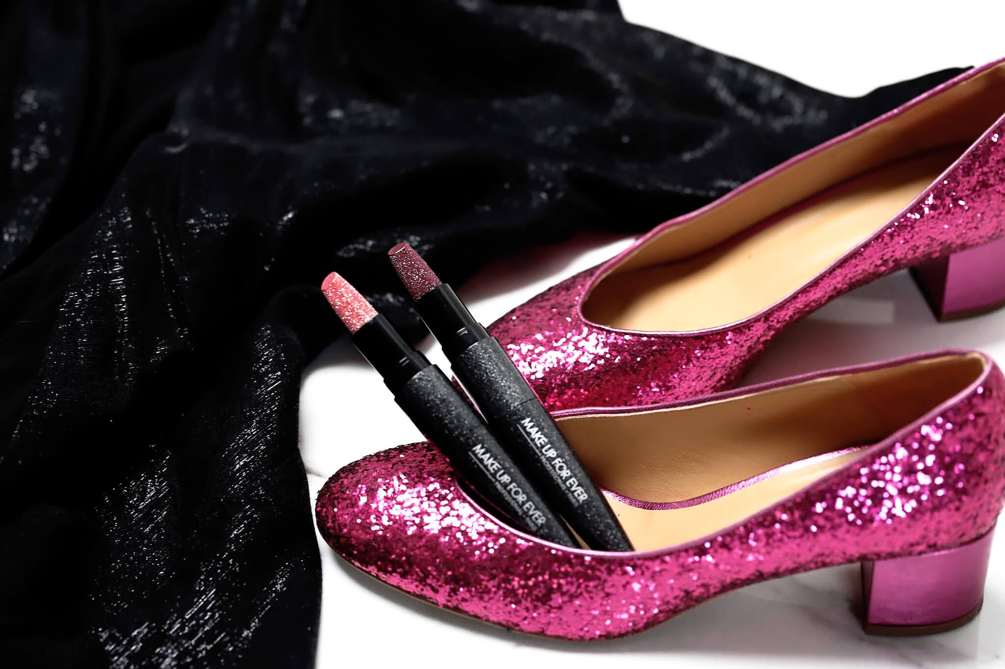 Make Up For Ever Rouge Artist 005 Shining Garnet 003 Glittering Sunstine