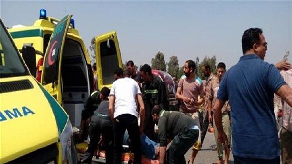 بالأسماء.. مصرع وإصابة 6 أشخاص في حادث انقلاب سيارة ملاكي بالبحيرة