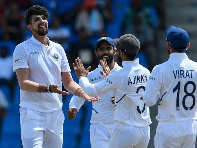 Ishant Sharma Took 5 Wickets