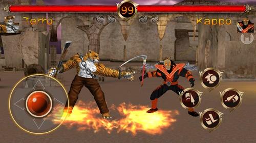 game pertarungan keren di android