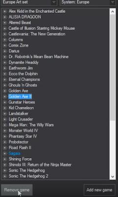 Añadir juegos Megadrive mini