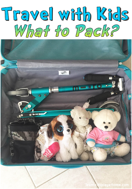 Travel with Kids. What to Pack