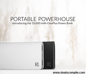 OnePlus 10000 mAh Power Bank at Amazon In Stock
