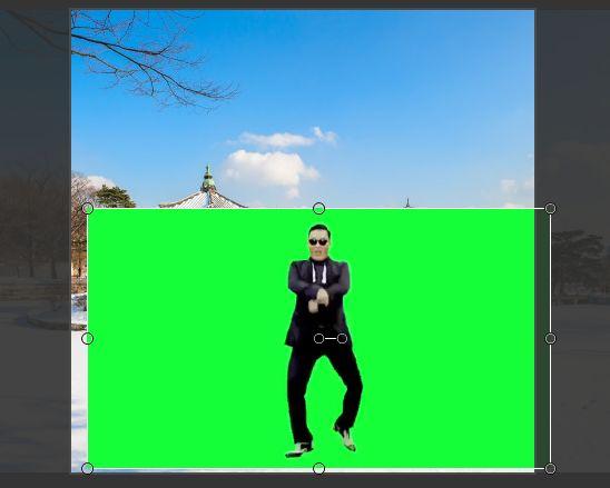 Mengganti  Background Video Menggunakan Teknik Green Screen