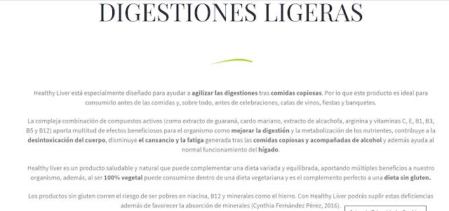 Digestiones ligeras y metabolizar el alcohol