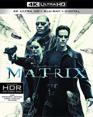 Filme Matrix 4K Ultra HD Dublado / Dual Áudio