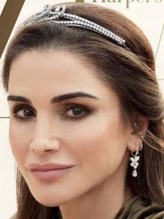boucheron diamond bracelet tiara queen rania jordan