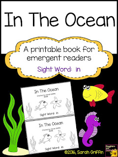 https://www.teacherspayteachers.com/Product/Sight-Word-Reader-In-The-Ocean-BW-2516947