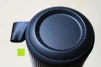 oben: R4mpage RP-1100 Bluetooth Lautsprecher 10Watt mit LED Farbwechselmodus, und Mikrofon für Freisprechfunktion