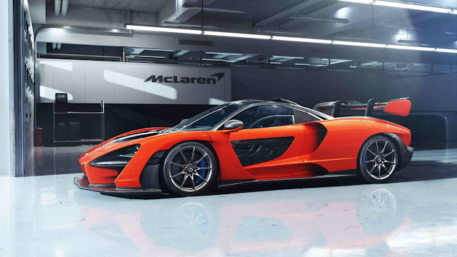 Latest model McLaren