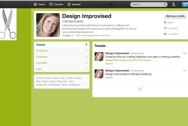 Design Twitter Page