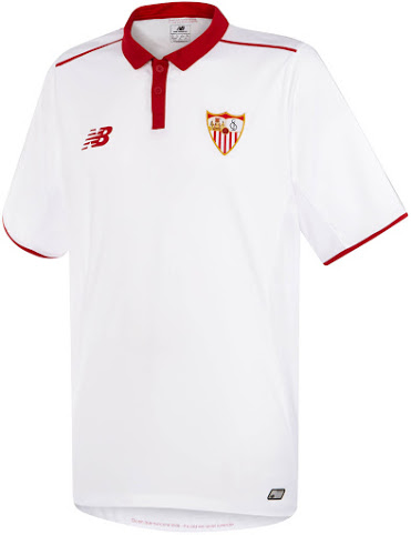 This is the new New Balance Sevilla Keeper home shirt. a0f11eec2