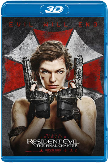 Resident Evil: Capítulo Final (2016) 3D SBS Latino