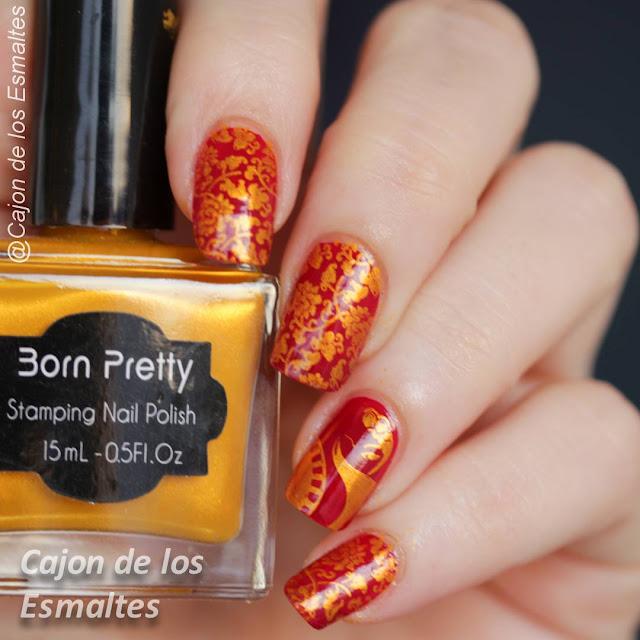 Decoración de uñas oriental