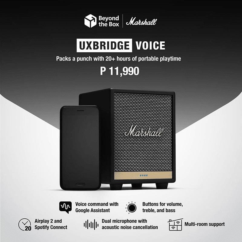 Marshall Uxbridge Voice portable speaker arrives in PH for PHP 11,990