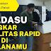 Fasilitas Rapid Test Bandara Kualanamu di Gerebek Poldasu