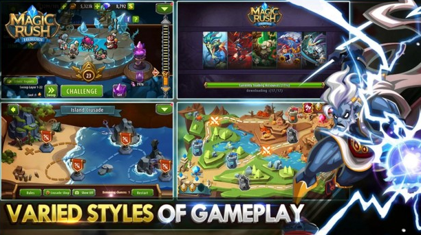 Magic Rush Heroes Mod Apk Unlimited Money Download for Android
