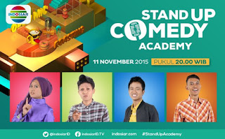 Komika Gantung Mic 11 November 2015 Stand Up Comedy Indosiar 4 Besar