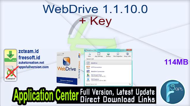 WebDrive 1.1.10.0 + Key_ ZcTeam.id