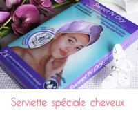 Sweet'N Dry, la serviette microfibre spéciale cheveux