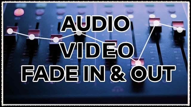 دورة تعلم وشرح filmora 9 عمل مؤثرات الدخول والخروج التدريجي شرح Fade in و Fade out