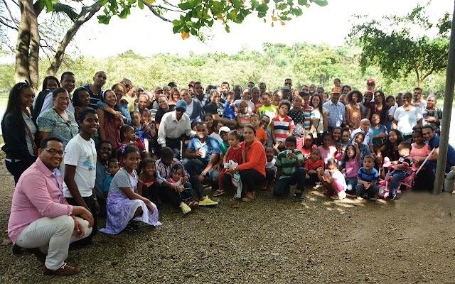 Familia Piña de Bohechío realiza tradicional encuentro de hermandad