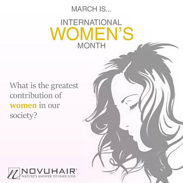 Novuhair celebrates International Women's Month