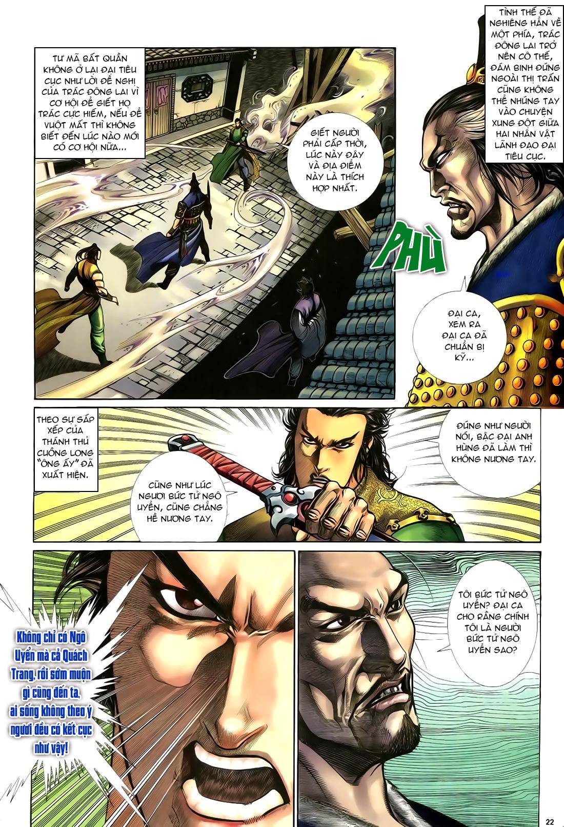 Anh hùng vô lệ Chap 23 trang 23