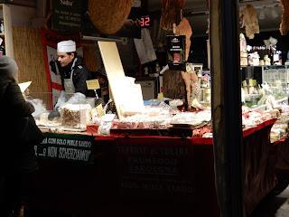 パドヴァのクリスマスマーケット風景