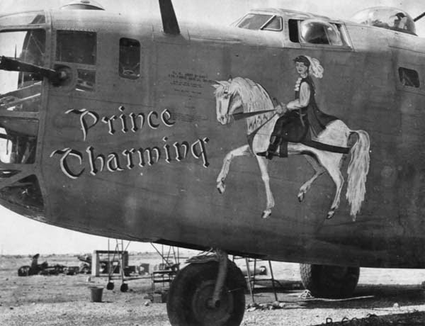 Photos of B24 Liberator Nose Art  Airplane nose art