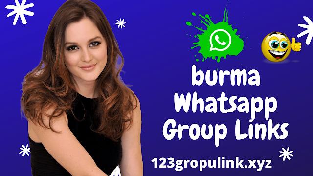 Join 500+ burma whatsapp group link