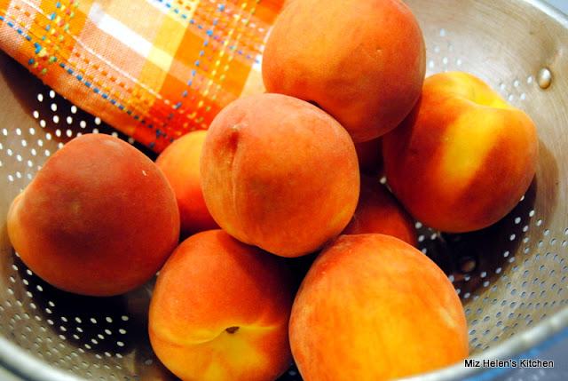Peach Galette at Miz Helen's Country Cottage