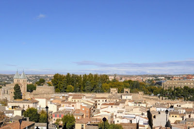 Day Trip from Madrid: Toledo town wall