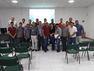 CPRM participa de curso para capacitação de representantes municipais no estado do Ceará