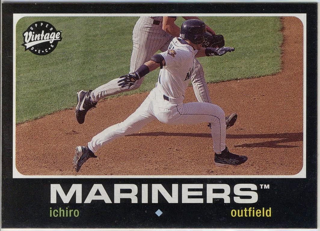 Baseball Card Blog: Ichiro Cards