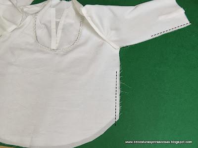 coser manga y cuerpo todo seguido