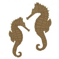 Creative Embellishments Seahorse