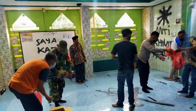 Pelaku Sobek-sobek Alquran dan Coret Mushalla di Tangerang Masih 18 Tahun, Tinggal Dekat TKP