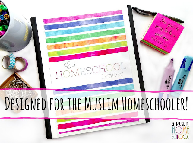 Homeschool planner designed for Muslim home educators