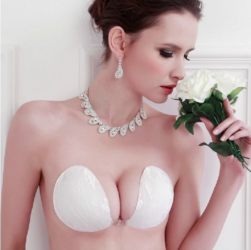 a8cde2e747f40 Cheap Bridal Corset White Wedding Special Occasion Bras Strapless Invisible  Bras