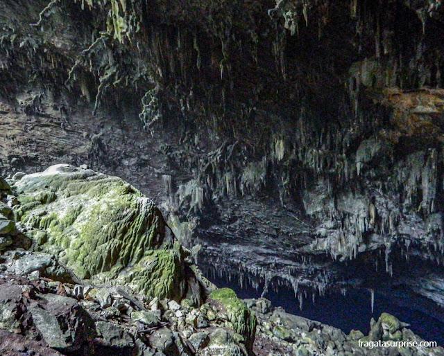 Gruta do Lago Azul, em Bonito
