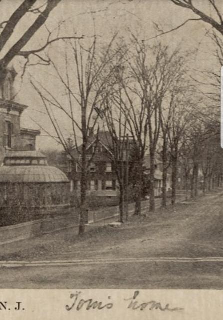 1919 postcard showing 3 Elm St Newton NJ Authenticated Sears No 163 of Reuben Talmage