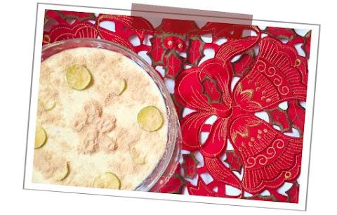 Receta de carlota de jengibre y limón