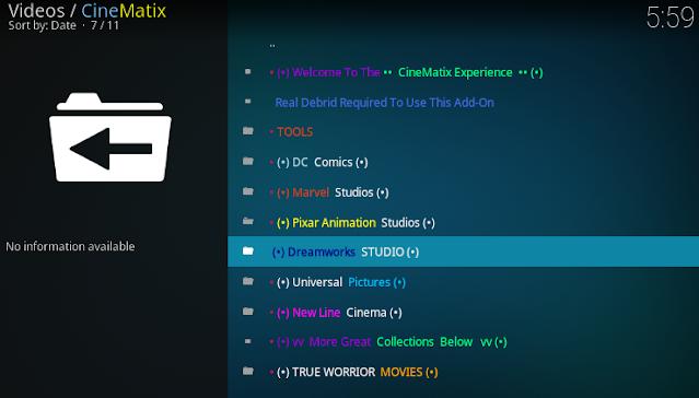 cinematix-kodi-addon