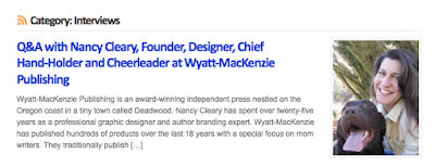 http://booksbywomen.org/qa-with-nancy-cleary-founder-designer-chief-hand-holder-and-cheerleader-at-wyatt-mackenzie-publishing/