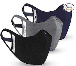 $6.59, Safe+Mate x Case-Mate Cloth Face Mask 3-Pack