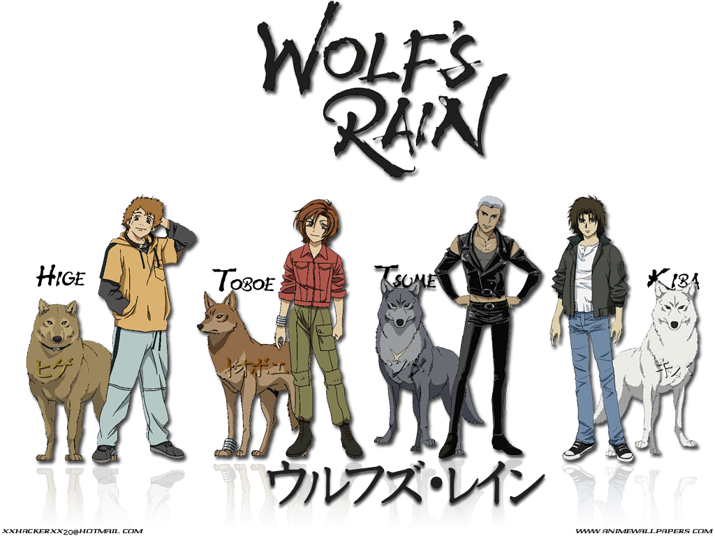 wolf rain coloring pages - photo#50
