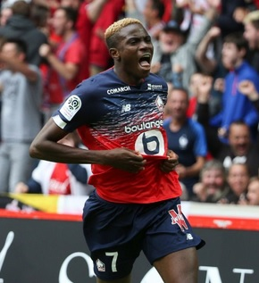 Ligue 1: Victor Osimhen Shines For Lille